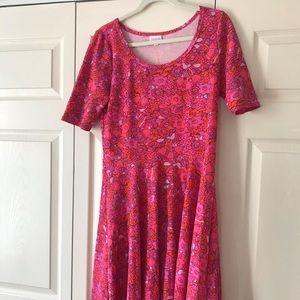 LulaRoe Retro Print Dress XL